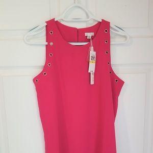 Spense Sleeveless Blouse NWT Medium Pink Stretch